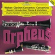 Charles Neidich/Orpheus Chamber Orchestra Weber: Clarinet Concerto No.1 in F minor, Op.73 - 1. Allegro