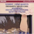 "Quartetto Italiano Schubert: String Quartets Nos.13 & 14 ""Death & the Maiden"""