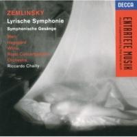 Sir Willard White/ロイヤル・コンセルトヘボウ管弦楽団/リッカルド・シャイー Sinfonische Gesänge. Op.20: Zemlinsky: 1. Lied aus Dixieland [Sinfonische Gesange. Op.20]