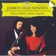 ミッシャ・マイスキー/マルタ・アルゲリッチ チェロ・ソナタ 第1番 ト長調 BWV1027: 第1楽章: ADAGIO