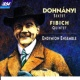 Endymion Ensemble Dohnanyi: Sextet in C, Op.37 / Fibich: Quintet, Op.42