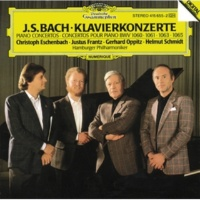 Christoph Eschenbach/Justus Frantz/Gerhard Oppitz/Helmut Schmidt/Hamburger Philharmoniker J.S. Bach: Concerto for 4 Harpsichords, Strings, and Continuo in A minor, BWV 1065 - 3. Allegro