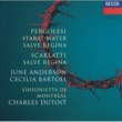 June Anderson/Cecilia Bartoli/Sinfonietta de Montréal/Charles Dutoit Scarlatti: Salve Regina / Pergolesi: Stabat Mater