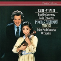 Pinchas Zukerman/Midori/St. Paul Chamber Orchestra J.S. Bach: Concerto For 2 Violins, Strings, And Continuo In D Minor, BWV 1043 - 2. Largo ma non tanto