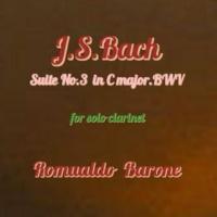 Romualdo Barone Suite No. 3. in C Major, BWV 1009: V. Bourree I-II