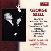 Cologne Radio Symphony Orchestra,George Szell&Robert Casadesus Piano Concerto No.27 in B-Flat Major, K.595: I. Allegro