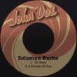 Solomon Burke To Thee