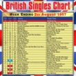 The King Brothers British Singles Chart - Week Ending 2 August 1957