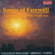 Vasari Singers,Jeremy Backhouse&Jeremy Filsell Songs of Farewell
