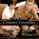 Connie Francis&Hank Williams Jr. Bye Bye Love
