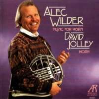 David Jolley,David Oei,Alan Kay&Sam Pilafian Alec Wilder: Music for Horn