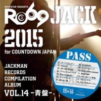 V.A. JACKMAN RECORDS COMPILATION ALBUM vol.14 -青盤-「RO69JACK 2015 for COUNTDOWN JAPAN」