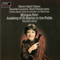 Academy of St. Martin in the Fields Recorder Concertos By Handel, Babell & Baston / Jacob: Suite For Recorder & Strings