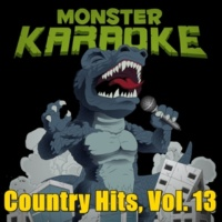 Monster Karaoke Country Hits, Vol. 13