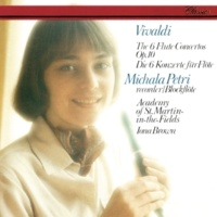 Michala Petri/Academy of St. Martin in the Fields/Iona Brown Vivaldi: 6 Concertos, Op.10