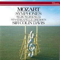 Sir Colin Davis/Staatskapelle Dresden Mozart: Symphonies Nos. 28, 29 & 34