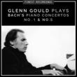 Glenn Gould Finest Recordings - Glenn Gould Plays Bach's Piano Concertos No. 1 & No. 5