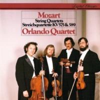 """Orlando Quartet Mozart: String Quartet No.21 in D, K.575 """"Prussian No.1"""" - 2. Andante"""