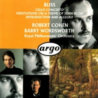 Robert Cohen/Royal Philharmonic Orchestra/Barry Wordsworth Bliss: Cello Concerto; Meditations On A Theme Of John Blow; Introduction And Allegro