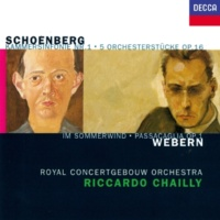 Royal Concertgebouw Orchestra/Riccardo Chailly Webern: Passacaglia for Orchestra, Op. 1