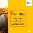 Anne-Sophie Mutter/Alexis Weissenberg Brahms : Violin Sonatas 1-3