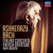 ヴラディーミル・アシュケナージ Bach, J.S.: Italian Concerto; French Overture; Aria Variata