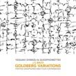 清水靖晃&サキソフォネッツ J.S.バッハ:ゴルトベルク変奏曲 ト長調BWV988 (5サキソフォン&4コントラバス版)[清水靖晃 編曲](第22変奏、アラ・ブレーヴェ)