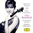 リサ・バティアシュヴィリ/シュターツカペレ・ドレスデン/クリスティアン・ティーレマン/アリス=紗良・オット ブラームス:ヴァイオリン協奏曲/クララ・シューマン:3つのロマンス
