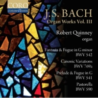 Robert Quinney Prelude and Fugue in G Major, BWV 541: I. Prelude