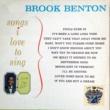 Brook Benton Songs I Love to Sing