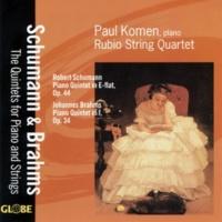Paul Komen&Rubio String Quartet Brahms & Schumann: Piano Quintets
