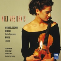 Niki Vasilakis/Tasmanian Symphony Orchestra/Sebastian Lang-Lessing Niki Vasilakis - Mendelssohn Bruch Violin Concertos