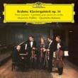マウリツィオ・ポリーニ/イタリア弦楽四重奏団 Brahms: Piano Quintet Op.34
