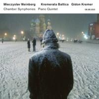 クレメラータ・バルティカ/ギドン・クレーメル ヴァインベルク: 室内交響曲 第1番‐第4番、ピアノ五重奏曲