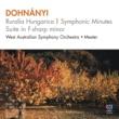 西オーストラリア交響楽団/Jorge Mester Dohnányi: Ruralia hungarica, Op.32b - 1. Andante