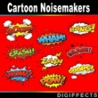 Digiffects Sound Effects Library Cartoon Noisemakers