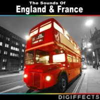 Digiffects Sound Effects Library London, England Large Busy Taxi Station with Footsteps and Voices