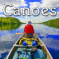Sound Ideas Canoe Paddled Tossed into Boat