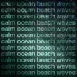 Ocean Beach Waves Calm Ocean Beach Waves