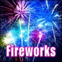 Sound Effects Library Fireworks - Single Whistle Launch with Medium Explosion, Fireworks