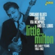 Little Milton Chicago Blues and Soul Via Memphis and St. Louis, His Early Years 1953 - 1962