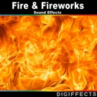 Digiffects Sound Effects Library Distant Intense Fireworks with Faint Applause