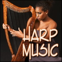 Sound Effects Library Harp - Major Chord Arpeggio, Up and Down, Music Harp Music, Authentic Sound Effects