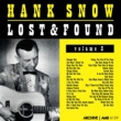 Hank Snow Lost and Found, Volume 3