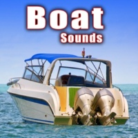 Sound Ideas 9.9 Hp Outboard Fishing Boat Passes by at a Medium Speed