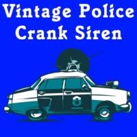 Acme Phone Company Vintage Police Crank Siren