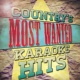 Country Nation Country's Most Wanted Karaoke Hits