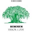 Rudenium Error Code