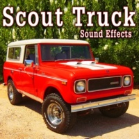 The Hollywood Edge Sound Effects Library Scout Truck Drives up at 30 MPH, Idles and Shuts off Take 1
