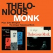 Thelonious Monk/Oscar Pettiford Thelonious Monk Trio Plays Duke Ellington + the Unique Thelonious Monk (feat. Oscar Pettiford)